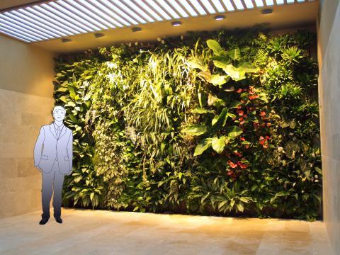 Gentilinidue giardini verticali giardini pensili giardini verticali indoor interni in casa - Giardini verticali interni ...